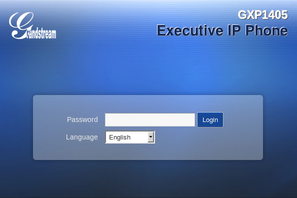 voip telephone admin log in